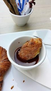 Guylian Belgian Chocolate Cafe: Dipping Chocolate