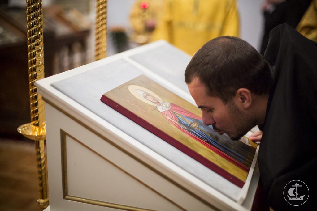 10 ноября 2013, Богослужение в Неделю 20-ю по Пятидесятнице