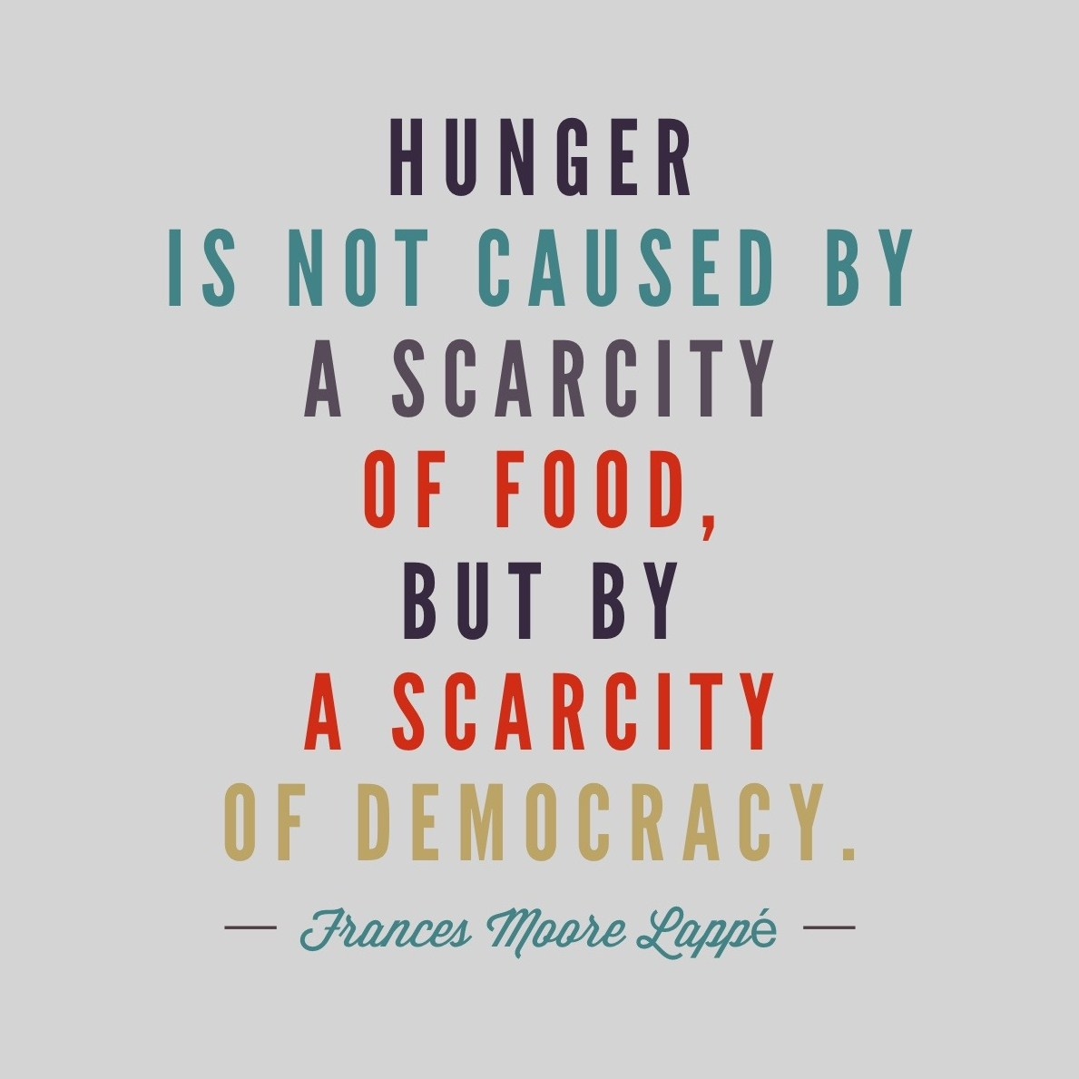 the challenge of food scarcity Food scarcity: the timebomb setting nation against nation as the un and oxfam warn of the dangers ahead, expert analyst lester brown says time to solve the problem is running out global.
