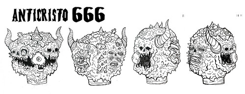 new head 666 by frankmysterio 2 APC