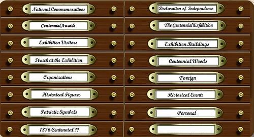 Centennial Medals Cabinet