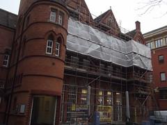 Ikon Gallery - scaffolding