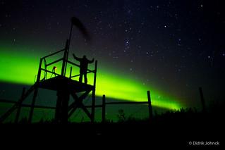 Nanuk Lodge Aurora Borealis