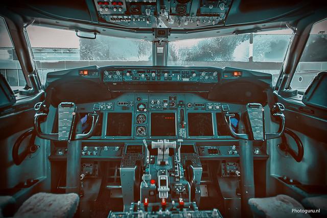 transavia kockpit