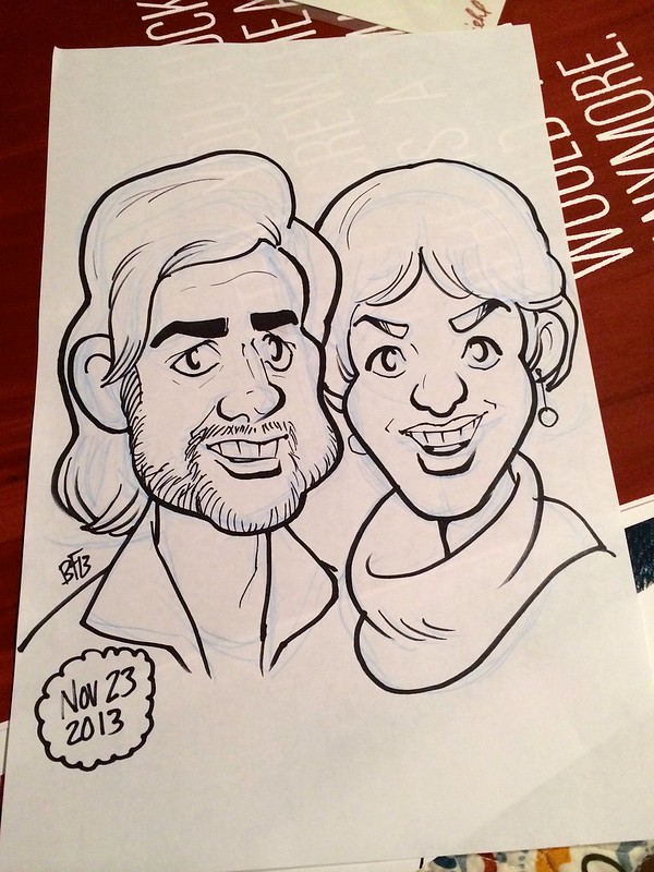 Caricature of Us by Benjamin Frisch