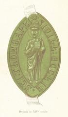 """British Library digitised image from page 495 of """"Histoire du Chapitre de Saint-Thomas de Strasbourg, pendant le moyen-âge, suivie d'un recueil de Chartes"""""""