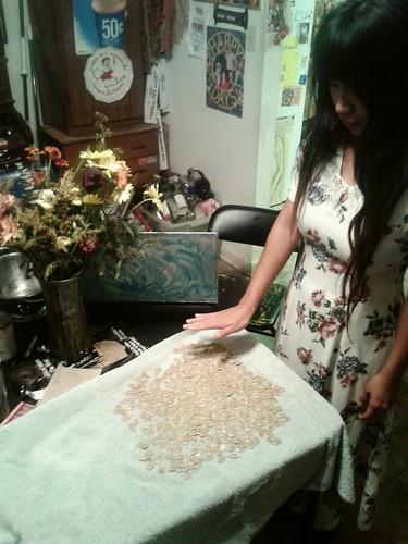 Ana Pumpkin Seed Grandma (Oct 24 2013)