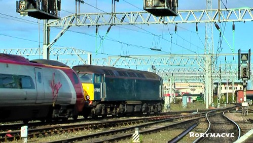 Virgin Trains 57313 & 390052 at Crewe