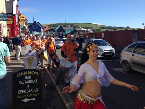Parade at Dingle Food Festival