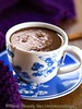 Chai-Spiced Blueberry Hot Chocolate (2/2)