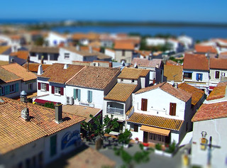 Tilt Shift - Saintes Maries de la Mer