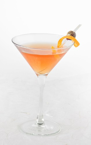 Ruby Spiced Martini
