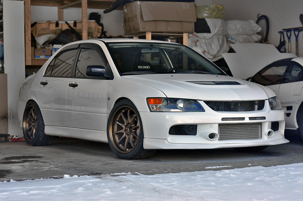 My Dual Purpose Evo 9 Rs Evolutionm Mitsubishi Lancer