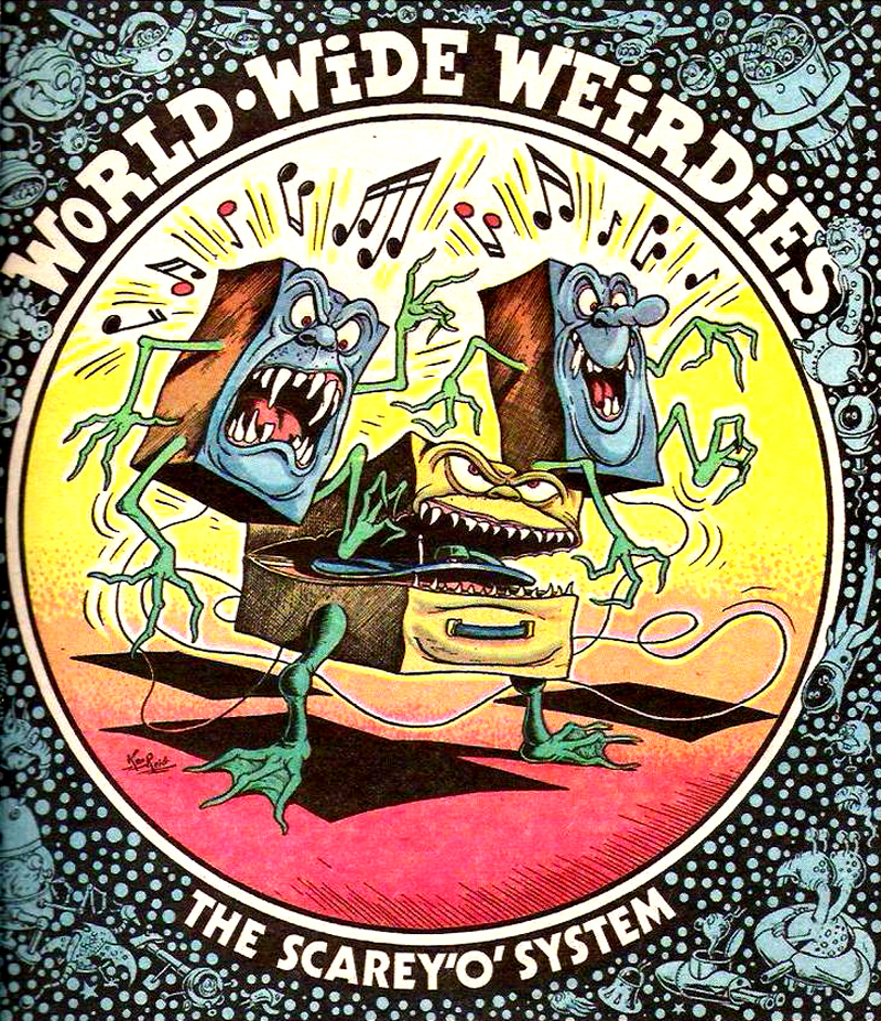 Ken Reid - World Wide Weirdies 107