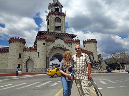 Door to the City of Loja Ecuador