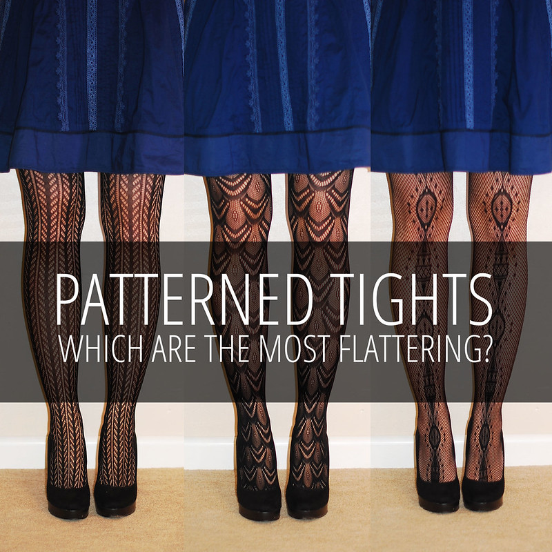 7e33520a4c7b6 Which Patterned Tights Are The Most Flattering? - Not Dressed As Lamb
