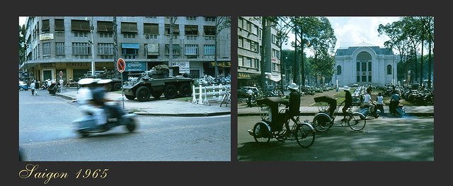 SAIGON 1965 - Lam Son Square - Photo by Robert Gauthier