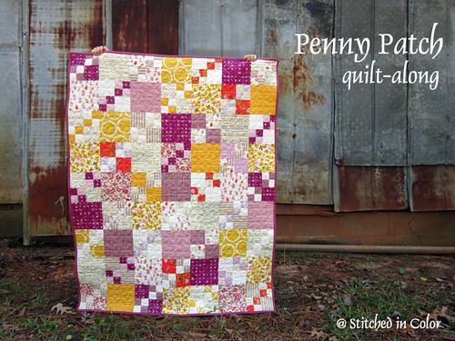 Penny Patch quilt along