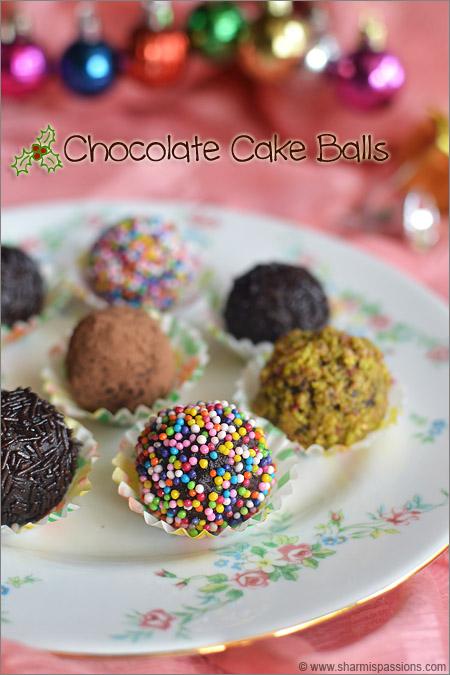 Cake Balls Recipe