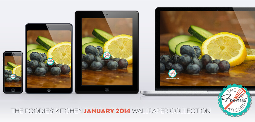 Foodies Freebie: January 2014 Wallpaper Collection