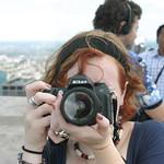 Sarah the photographer
