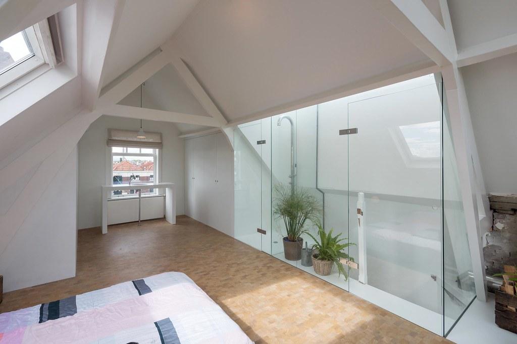 Inloopdouche Met Wastafels : Voorbereiding voor badkamer met inloopdouche en wastafel van