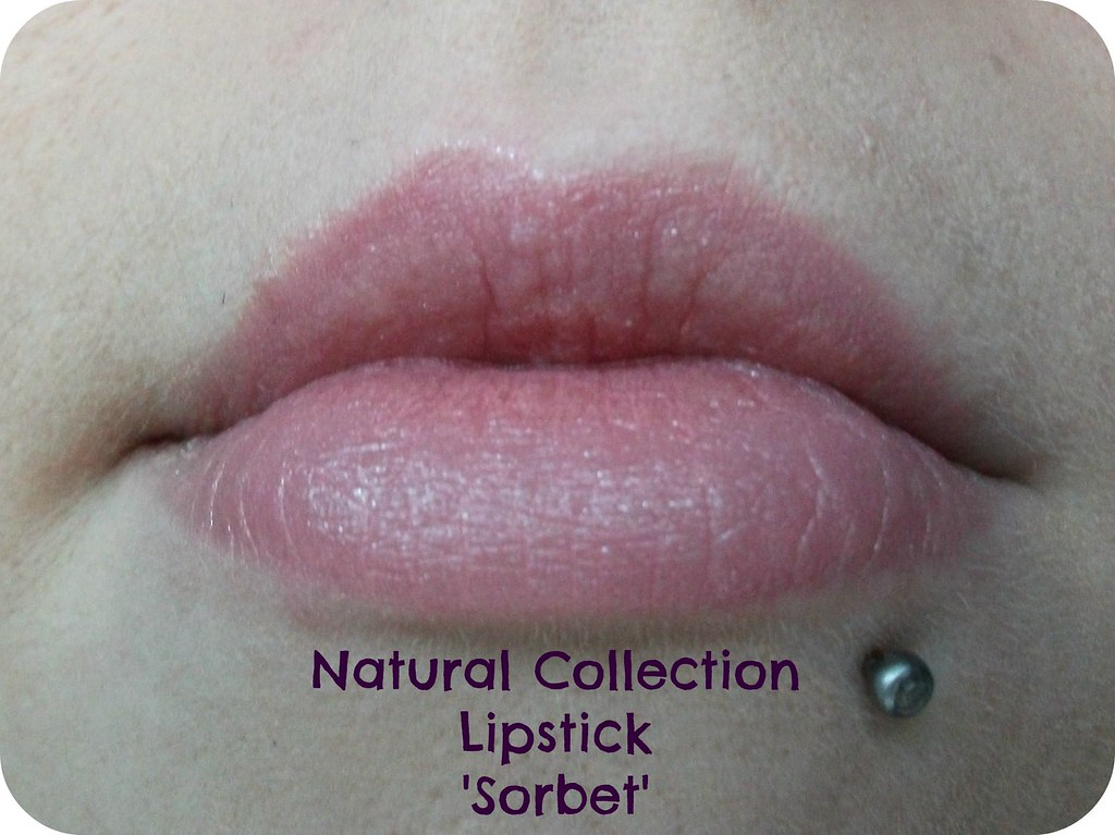 Natural Collection Lipstick Sorbet Swatch