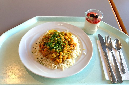 Pikantes Kichererbsencurry / Zesty chickpea curry