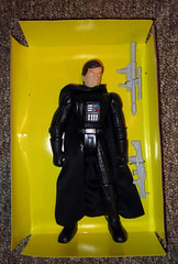 Darth Vader knockoff Star Wars doll figure no helmet David Prowse maybe