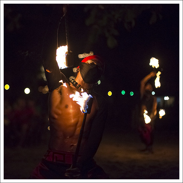 Fire Dancers At Nibbana 2
