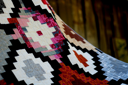 Ikat Quilt pattern