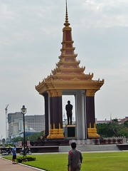 Sihanouk's Statue