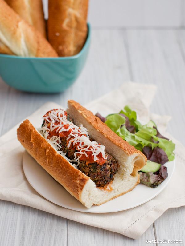 Vegan Mushroom & Quinoa Meatballs