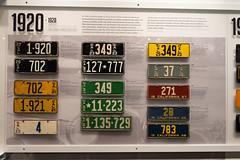 California License Plates 1920-1928