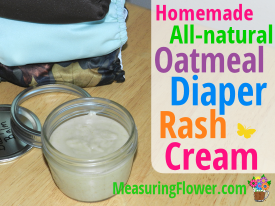 oatmeal diaper rash cream