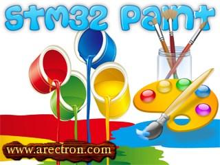 STM32 ile Touch Panel kullanımı ve Paint Uygulaması