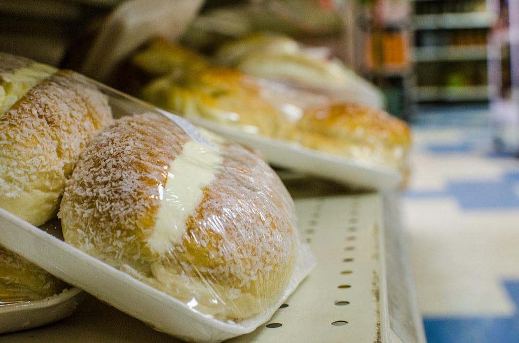 coconut cream bun