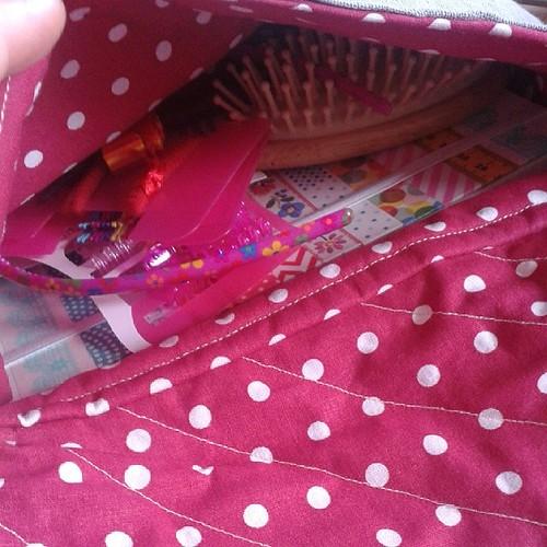 Ringelmiez-Tasche mit Inhalt #trostpaket