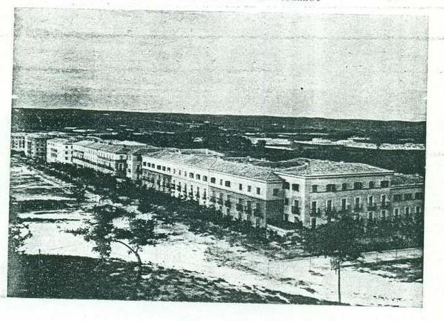 Vista de la Avenida de la Reconquista. Año 1948 aprox.