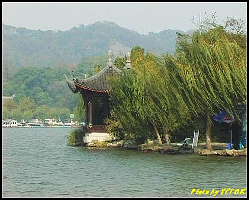 杭州 西湖 (其他景點) - 380 (西湖 湖上遊 往湖心亭 湖心亭上的亭台樓閣)