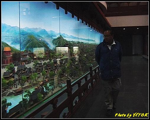 杭州 吳山天風景區 - 068 (城隍閣 內的南宋時期的杭州風情軟木立體畫))