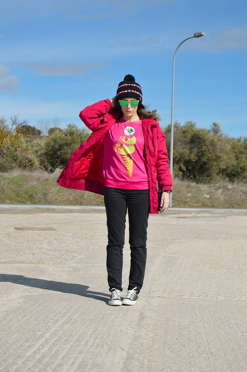 lara-vazquez-madlula-blog-fucsia-green-fashion-casual-look