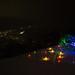 Illuminated alone / 雪あかり 桜の木