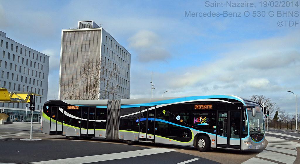 Stran mercedes benz o 530 g bhns par transport de france tdf sur flickr - Garage renault saint nazaire 44600 ...
