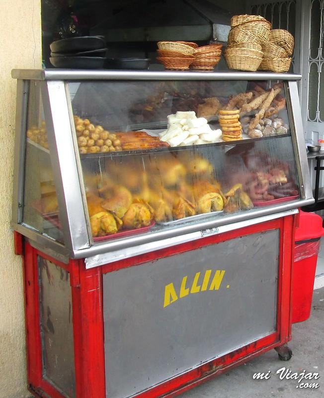 comidas colombianas, fritanga