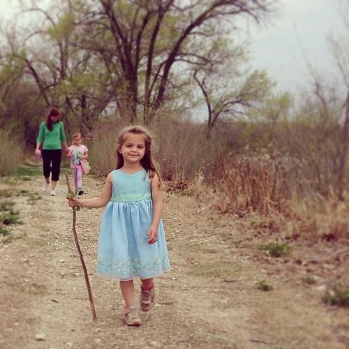 Dresses & Hiking #kansas #mhk