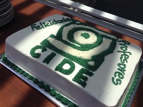 CIDE branded cake