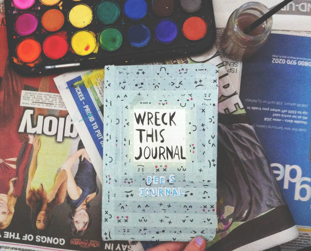 wreck this journal uk lifestyle blog vivatramp bee