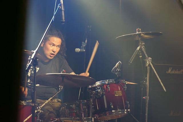 神風 KAMIKAZE live at 獅子王, Tokyo, 10 May 2014. 288