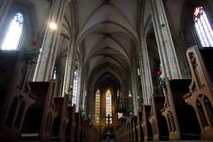 Esslingen am Neckar, Frauenkirche interior